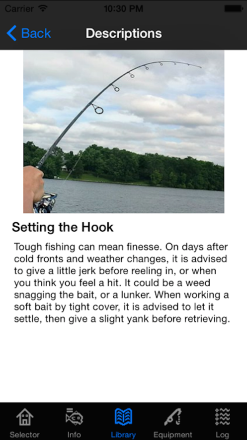 Bassmaster Tough Fishing App 截图