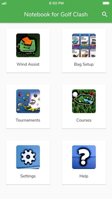 Screenshot for Notebook for Golf Clash in India App Store