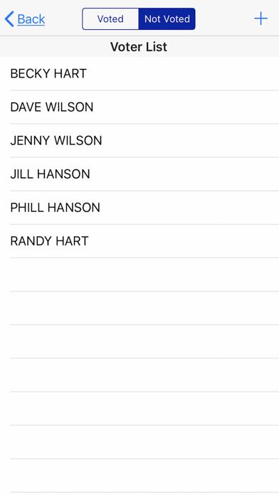 Chili Cook-Off Score Board Screenshots