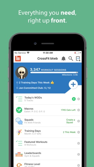 Best free crossfit app