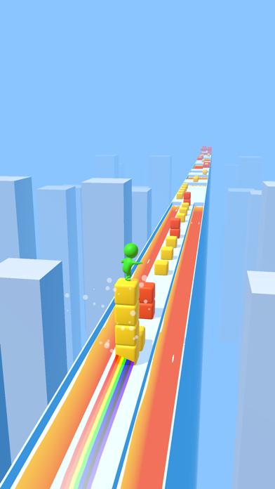 Cube Surfer! screenshot 2