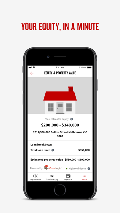 NAB Mobile BankingScreenshot of 5