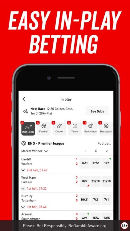 Virgin Bet: Sports Betting App screenshot-6