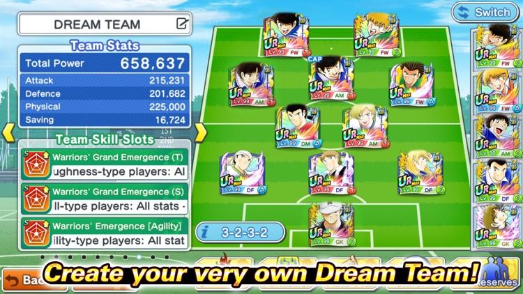 Captain Tsubasa: Dream Team screenshot-4