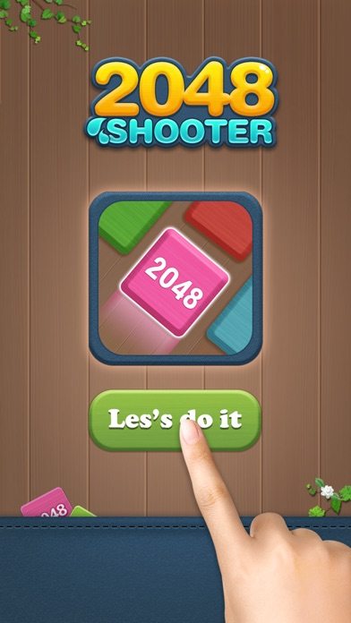 Shoot Merge 2048-Block Puzzle