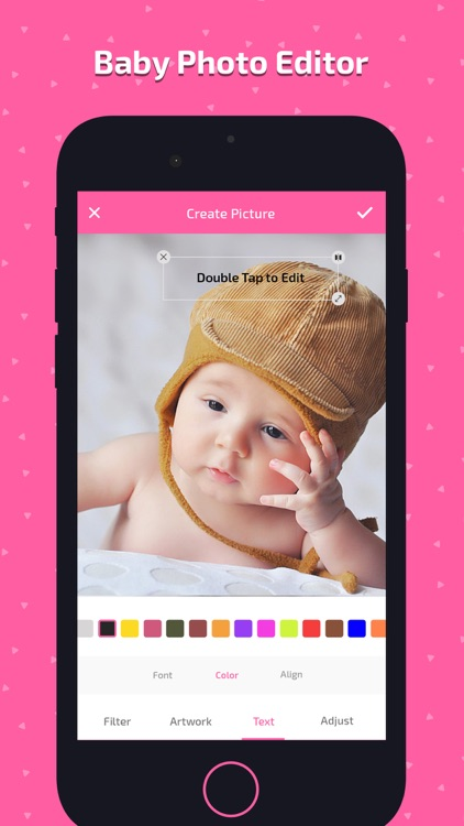 Baby Photo Art - Monthly Pics screenshot-3