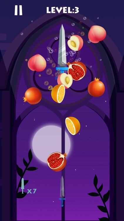 Knife Rush Fruit ! screenshot-4