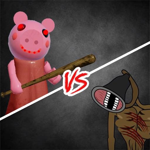 Siren Head vs Piggy Coloring iOS App