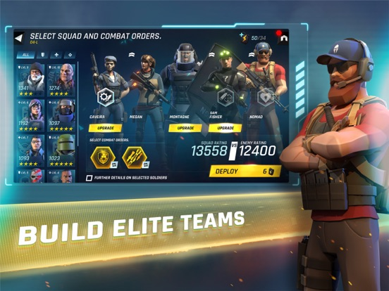 iPad Image of Tom Clancy's Elite Squad