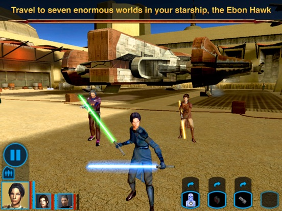 Star Wars™: KOTOR IPA Cracked for iOS Free Download