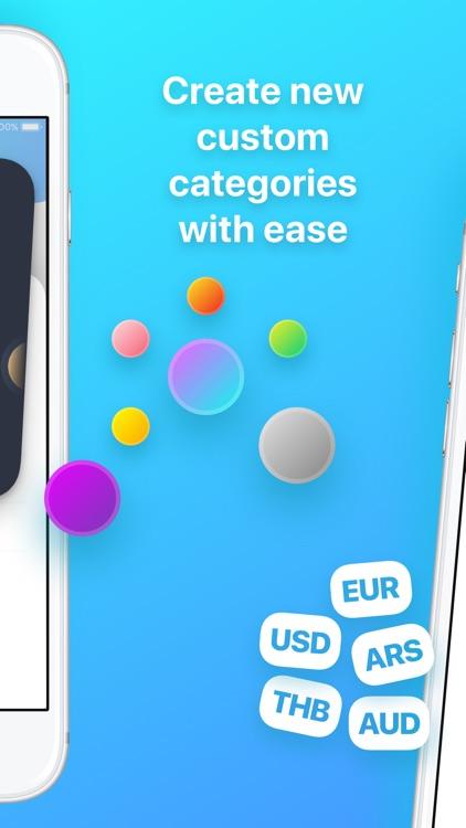 Sally Expense Tracker screenshot-3