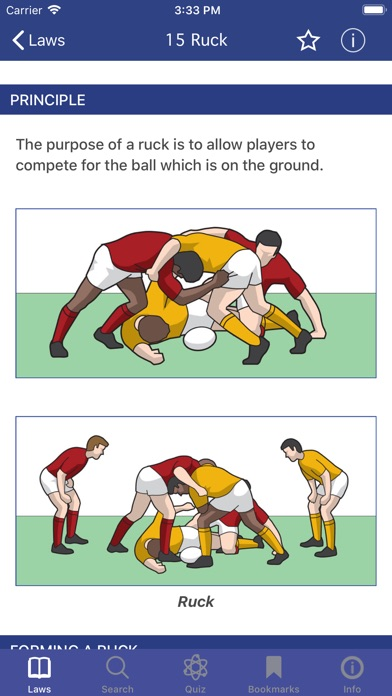 Screenshot for World Rugby Laws of Rugby in Qatar App Store