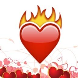 Valentines Day Emojis - Love
