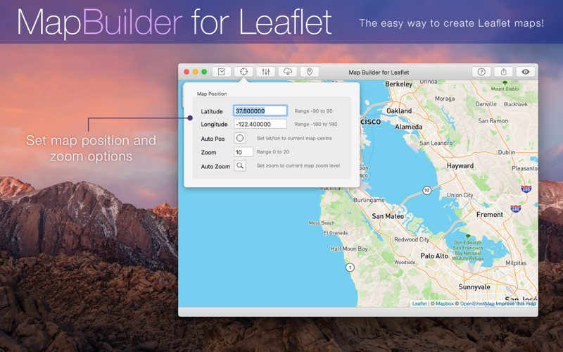 MapBuilder for Leaflet | App Price Drops on housing maps, google maps mania, map software for os x, maps of the world, map captain, maps on us, map creation freeware, map engineering company, map maker pro, map of amtrak through glacier park,
