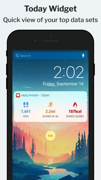 messages.download HealthView Widget software