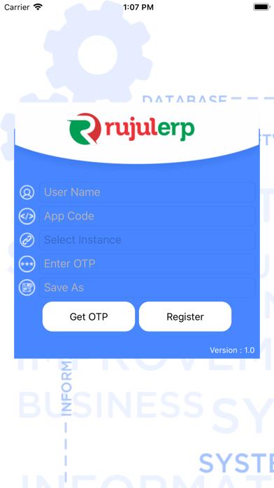 RujulERP Dashboard 1