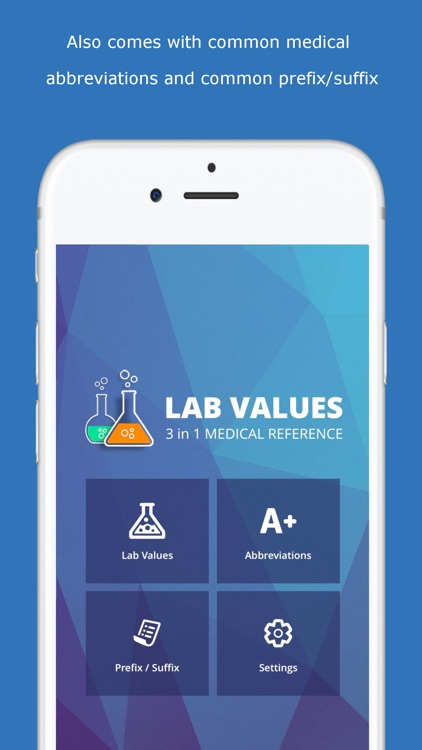 Lab Values Medical Reference screenshot-4