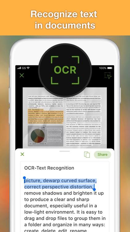 Doc OCR Pro - Book PDF Scanner screenshot-0