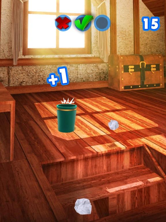 Paper Throw - Aim and Toss screenshot 7