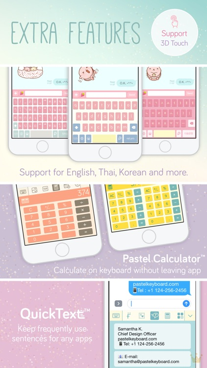 Pastel Keyboard -  VIP Premium screenshot-3