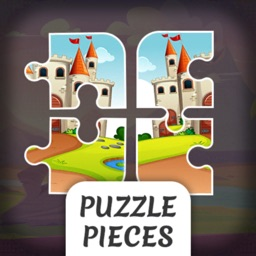 Puzzle Pieces Square Puzzle