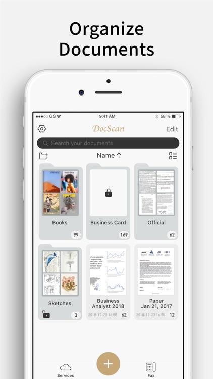 Doc Scan Pro - PDF Scanner Fax screenshot-8
