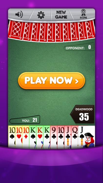 Gin Rummy * Classic Card Game screenshot-6