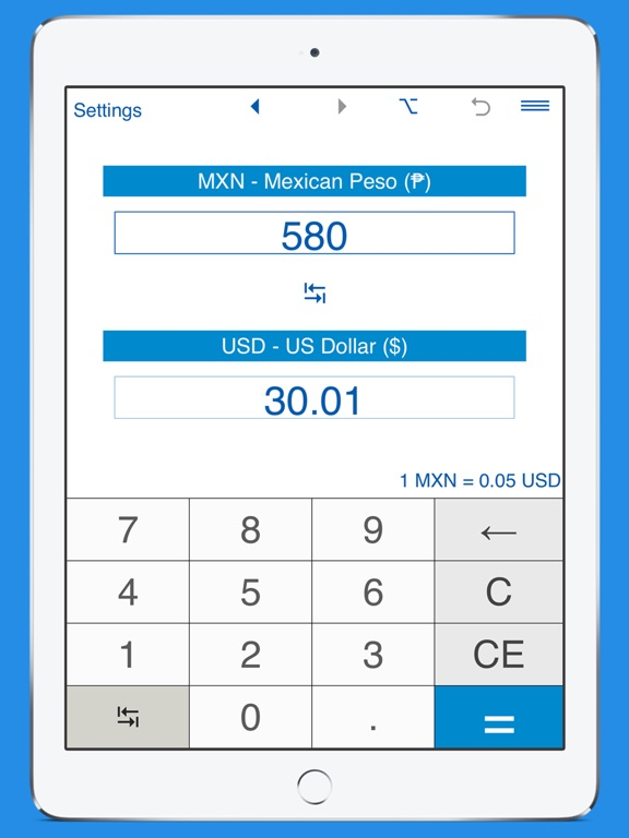 Screenshot 2 For Usd And Mxn Converter
