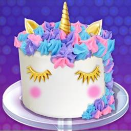 Unicorn Cake - Rainbow Dessert
