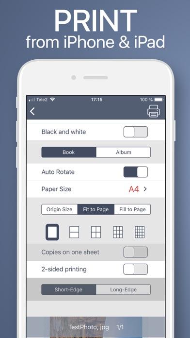 Tap & Print - Printer App Screenshot