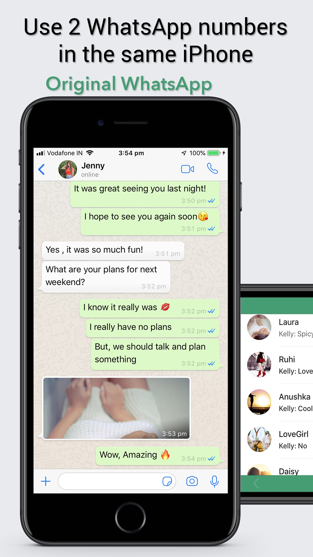 Dual Messenger for WhatsApp WA Screenshot