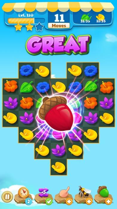 Flower Legends Match 3 screenshot 2