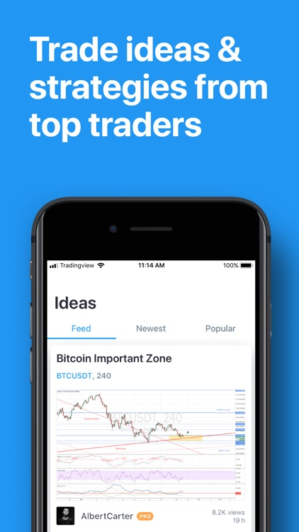 TradingView - Stocks & Forex screenshot-3