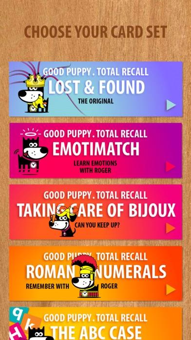 Screenshots for GOOD PUPPY . TOTAL RECALL