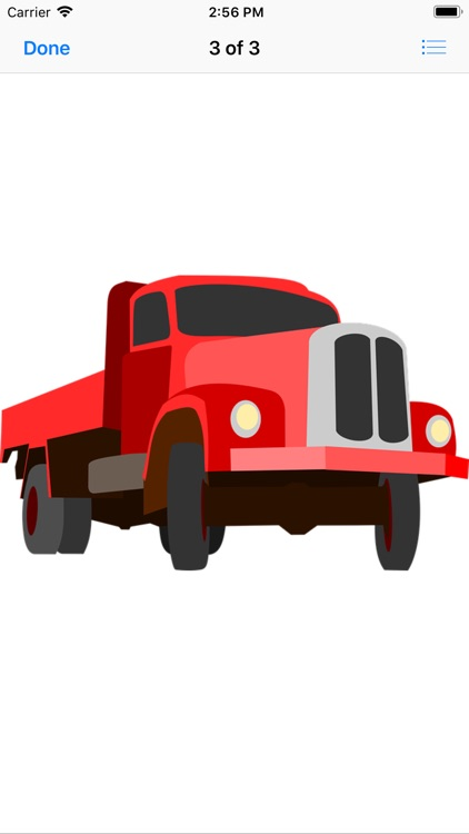 Red Truck Stickers screenshot-4