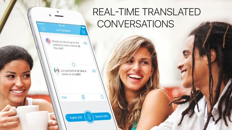 Translate Me - Live Translator screenshot-0