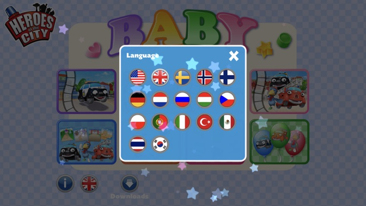 Heroes of the City Baby App screenshot-3