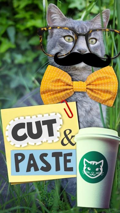 Cut & paste - Create Stickers screenshot one