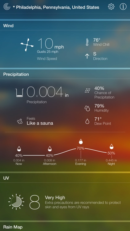Weather Live° screenshot-2