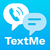 Text Me! - Free Texting and Messaging + Free Phone Calls + Free Video Call icon