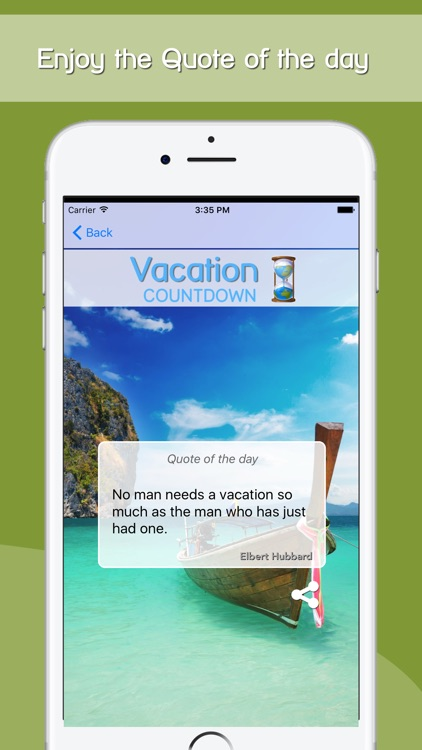 Vacation Countdown App screenshot-5