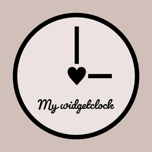 My widget clock - ウィジェット時計 -