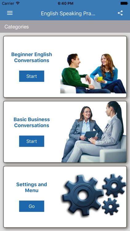 Speaking English Practice