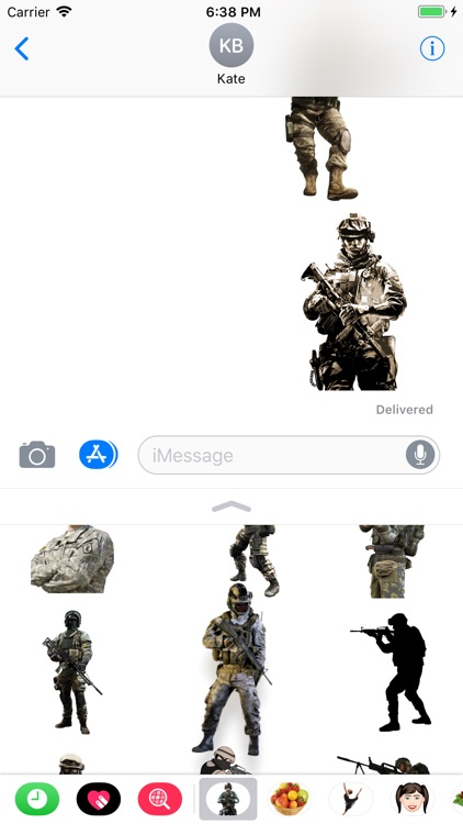 Military Bundle Stickers