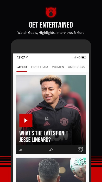Manchester United Official App-8