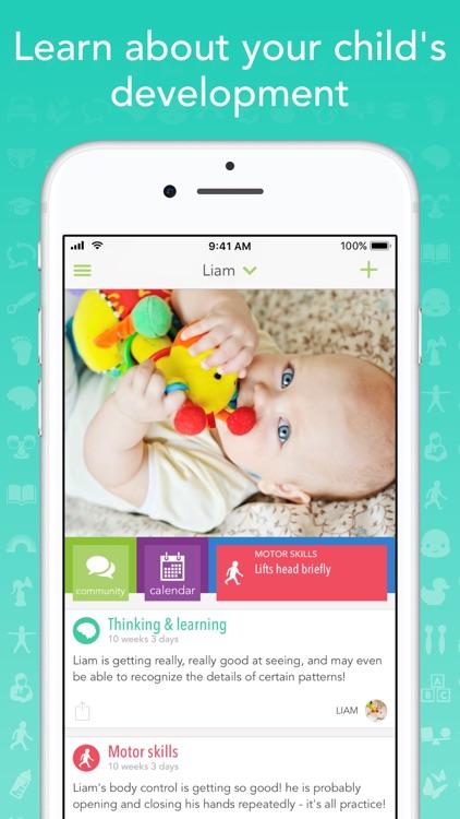 Ovia Parenting & Baby Log