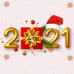 Happy New Year Sticker Emoji