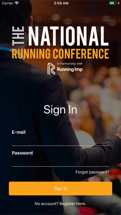 National Running Conference app image