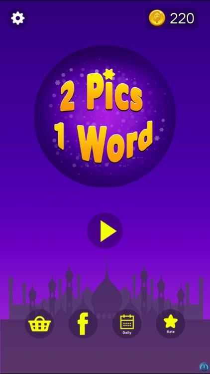 2 Pics 1 Word - Guess Word screenshot-4
