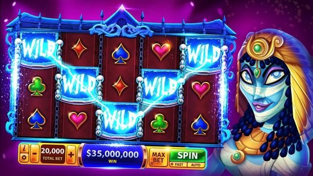 Slot machines at excalibur